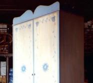 armadio con decorazione