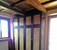 armadio in vero legno bambu