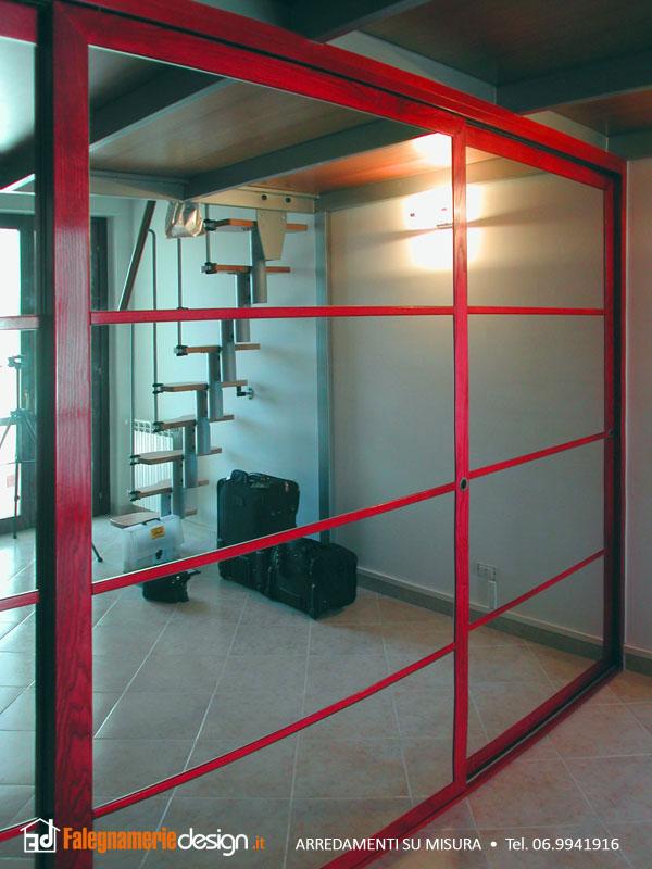 Armadio su misura ante a specchio arredamenti e mobili for Falegnamerie design