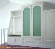 armadio su misura bianco