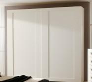 armadio su misura bianco con ante scorrevoli