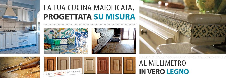 Cucine con maioliche arredamenti e mobili su misura roma - Cucine con maioliche ...