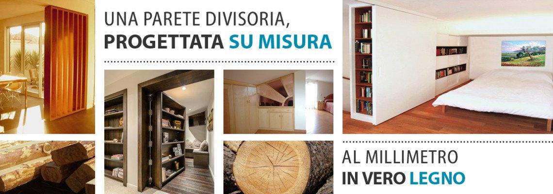 Popolare Pareti divisorie Roma, in legno su misura per i vostri spazi DZ31