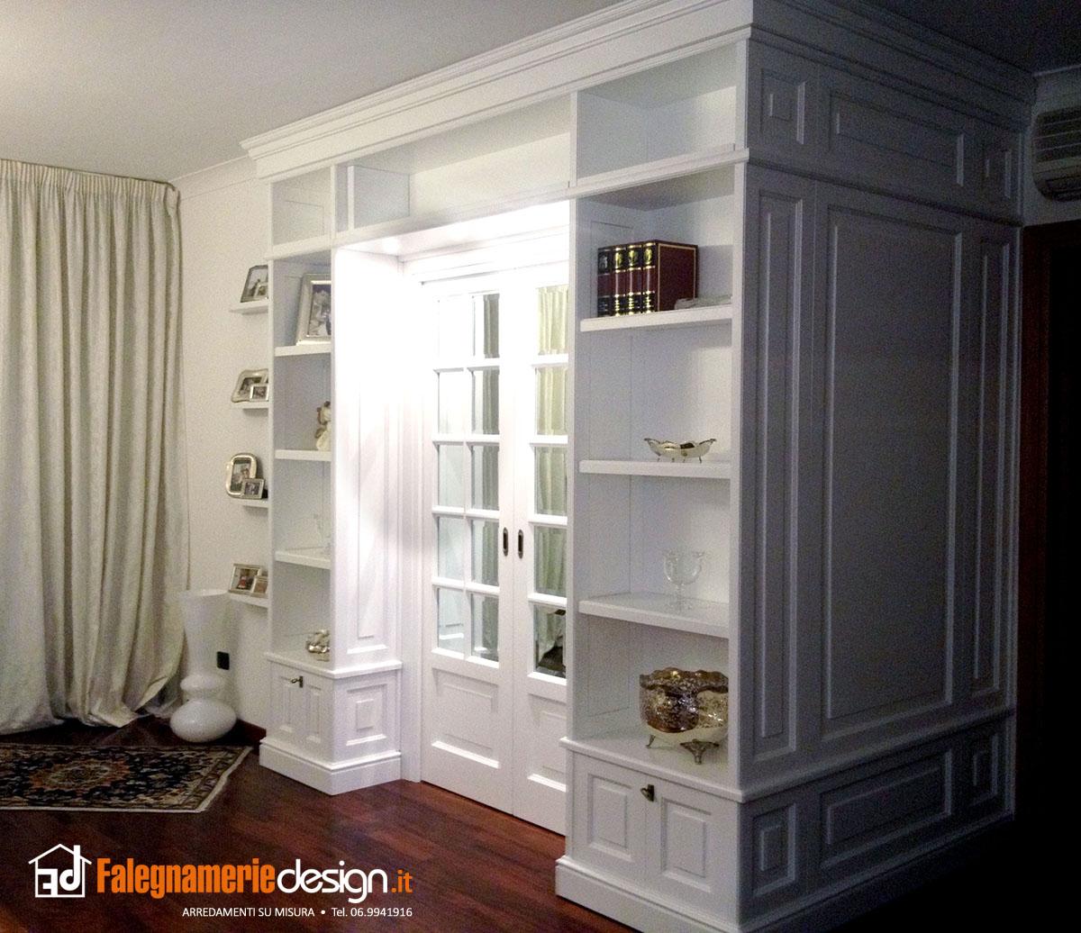 Boiserie uguale alla libreria arredamenti e mobili su for Falegnamerie design