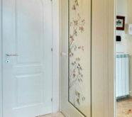 anta armadio con decorazione