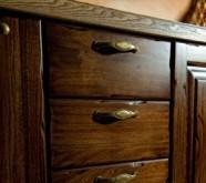 cassetti in legno massello