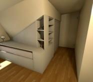 armadio per mansarda 469