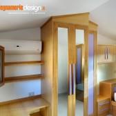 armadi per mansarde legno