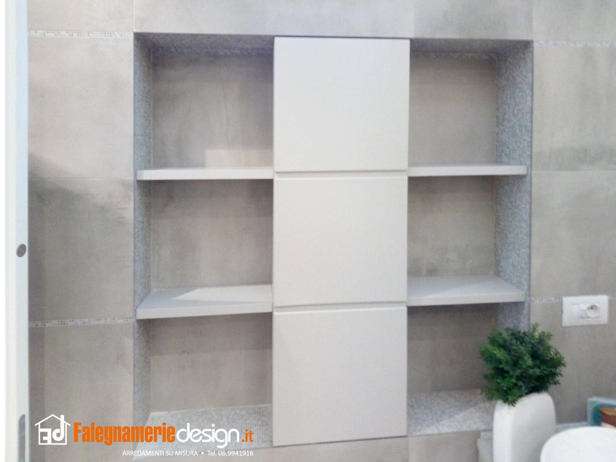 Armadietto bagno grigio legno arredamenti e mobili su for Armadietto bagno