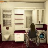 bagno su misura per disabili