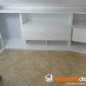 cabina armadio fatta in legno