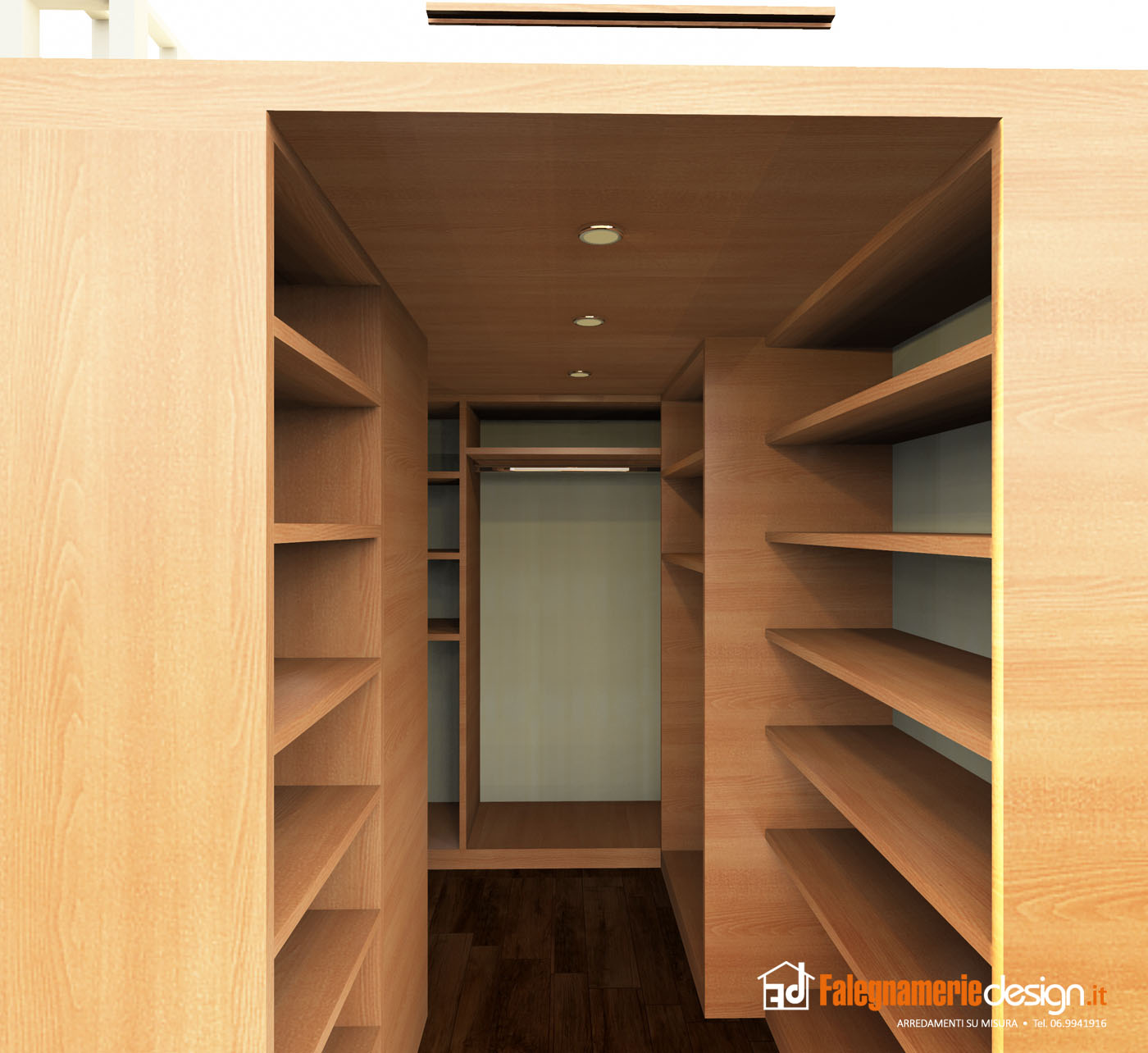 Cabine armadio 470c arredamenti e mobili su misura roma - Cabine armadio design ...