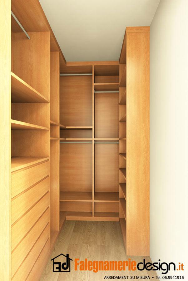 Cabine armadio su misura roma come ottimizzare lo spazio for Piccoli piani di casa cabina