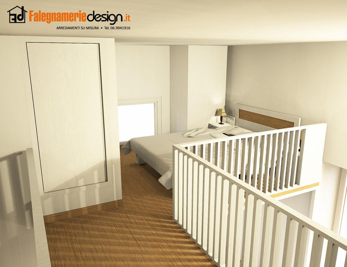 Camera da letto su soppalco arredamenti e mobili su - Camera letto soppalco ...