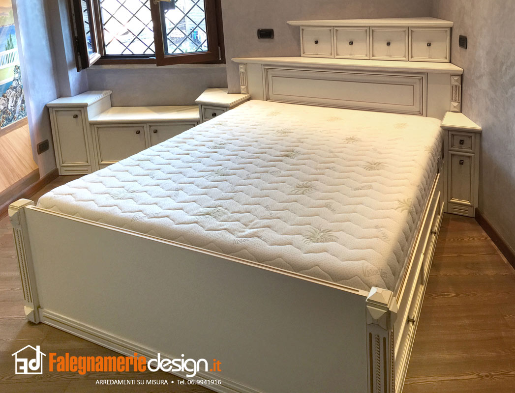 Camera da letto arredamenti e mobili su misura roma - Camera da letto roma ...