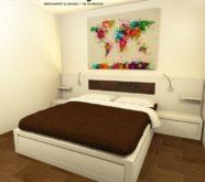 camera in legno su misura roma