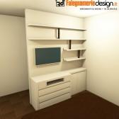 camera in legno su misura roma 2