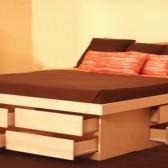letto con cassetti