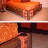 letto in bamboo