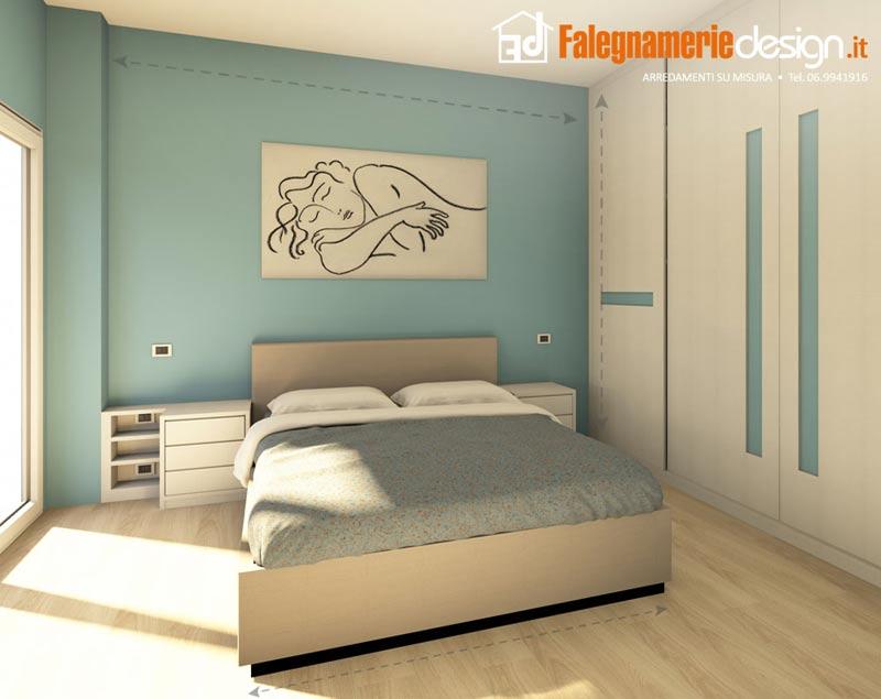 camere da letto roma tutto in vero legno su misura