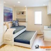 cameretta con letto estraibile in legno