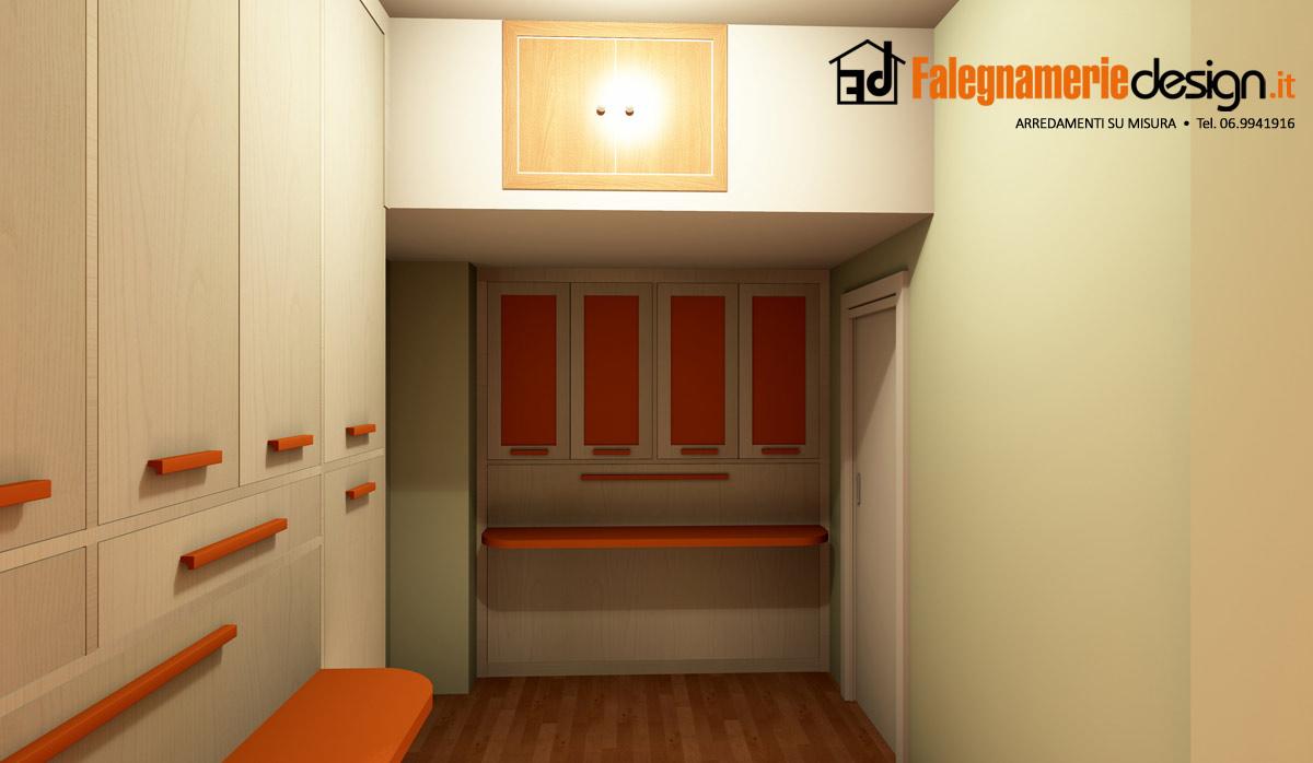 Camerette progettazione 2 arredamenti e mobili su misura for Falegnamerie design