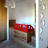 camera per ragazzi in legno