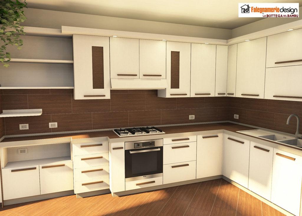 Cucine moderne roma in legno su misura - Cucine su misura prezzo al metro ...
