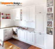 cucina in legno bianco roma