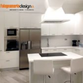 cucina legno bianco