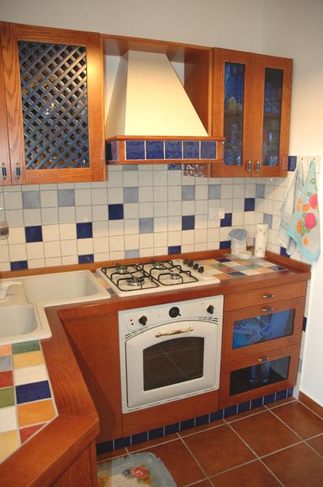 cucina classica in legno roma