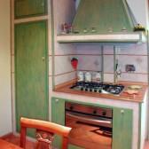 cucina muratura falegname
