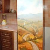 decorazione anta frigorifero cucina