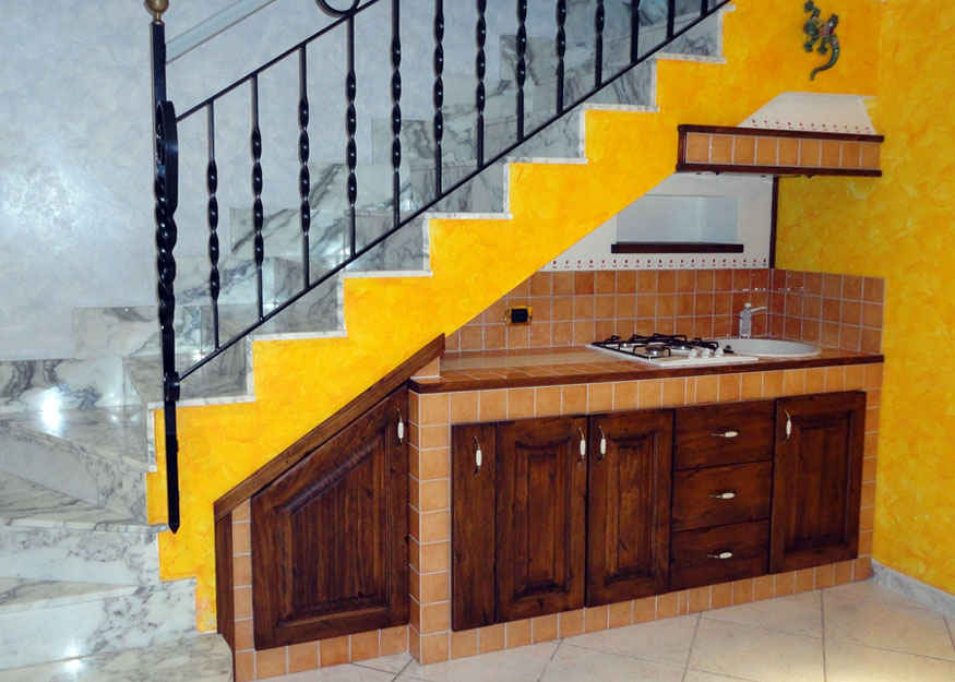 Foto cucine in muratura falegnamerie design - Cucine in muratura foto ...