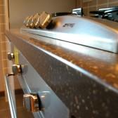 cucina su misura fuochi smeg