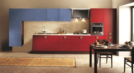 Cucine moderne roma in legno su misura - Cucine moderne bicolore ...