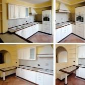 cucina rustica bianca
