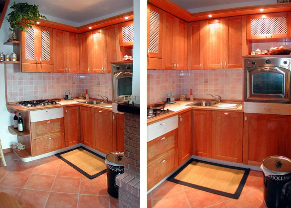 Foto cucine rustiche su misura falegnamerie design - Cucine rustiche foto ...