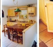 cucina su misura rustica