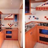 cucina in legno rustico