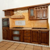 cucina in noce