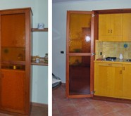 cucina a scomparsa
