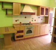 cucina legno colore chiaro