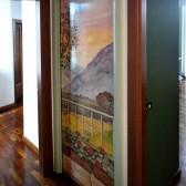 decorazione su porta