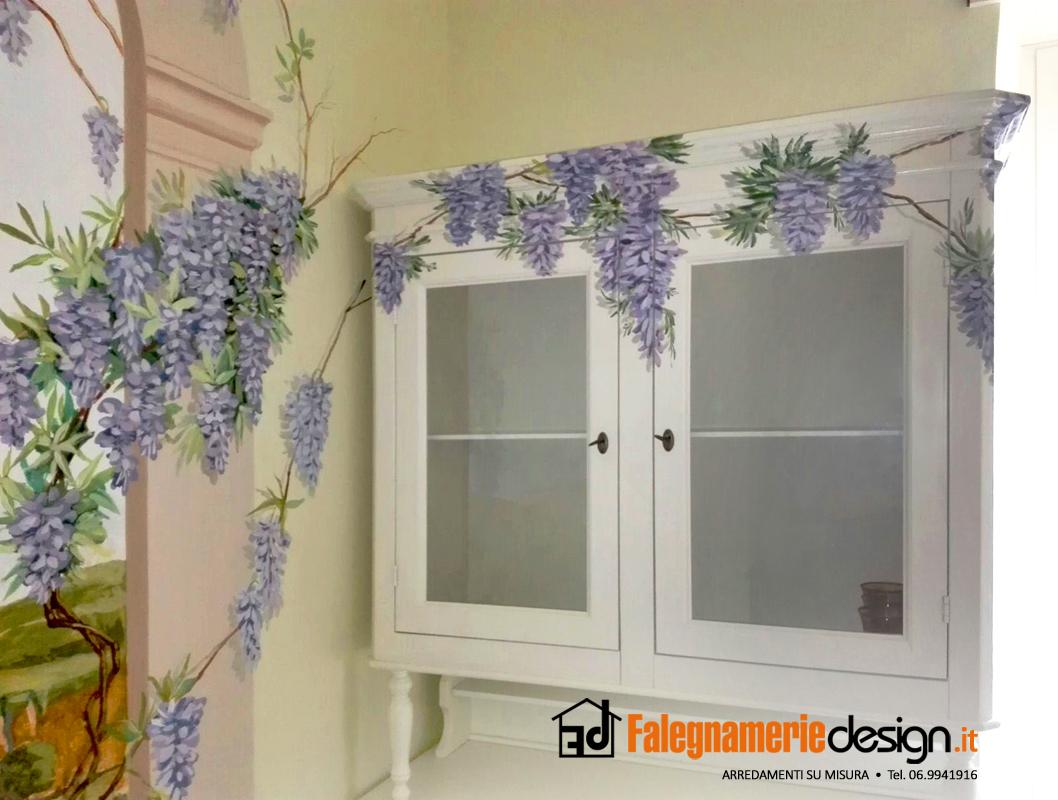 Foto trompe l 39 oeil falegnamerie design for Glicine disegno