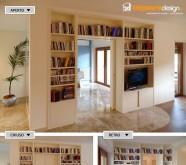 dividere il soggiorno senza muratura
