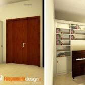 divisione soggiorno armadio