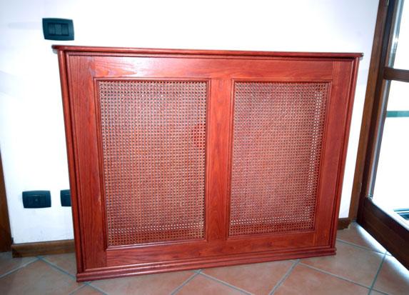 copritermosifoni su misura roma costruiti in vero legno