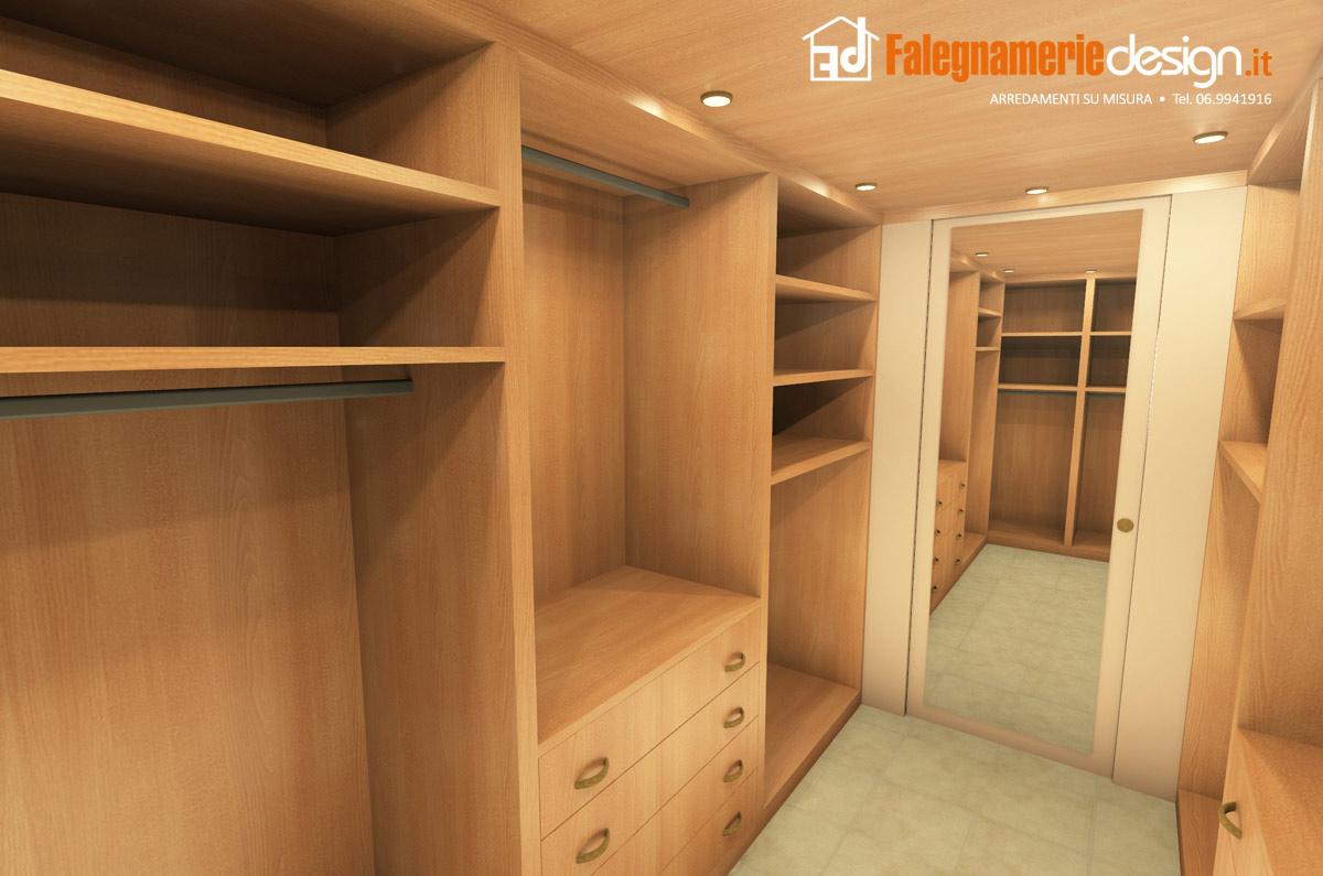Interno cabina armadio 3 arredamenti e mobili su misura roma - Armadio interno ...