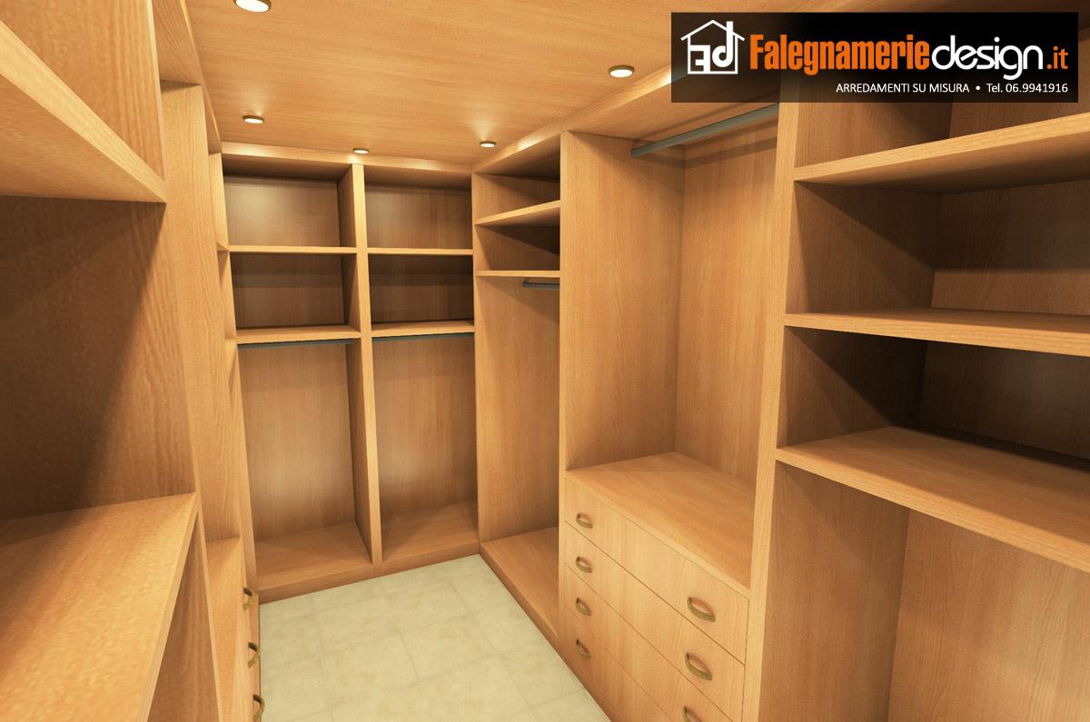 Interno cabina armadio arredamenti e mobili su misura roma - Armadio ripostiglio da interno ...